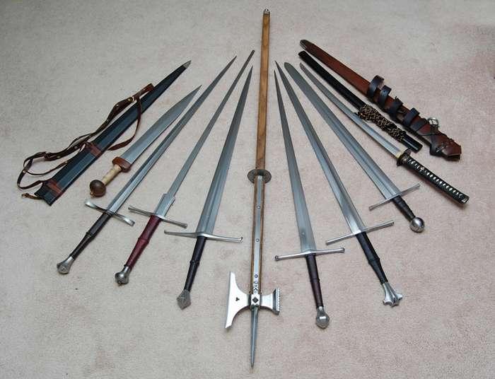 Бастард и полутораручный меч-15 фото + 2 видео-