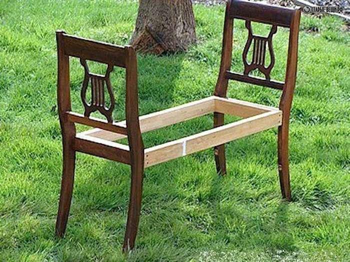А вы и представить не могли, что такое можно сделать из старого бабушкиного стула? Фантастика!-23 фото-