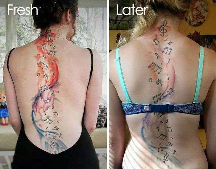 Татуировка - достоверный индикатор пустой дуры-5 фото-