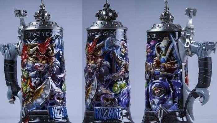 Какие подарки получают сотрудники Blizzard Entertainment за выслугу лет-7 фото-