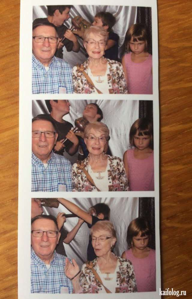 Прикольные семейные фото (45 штук)