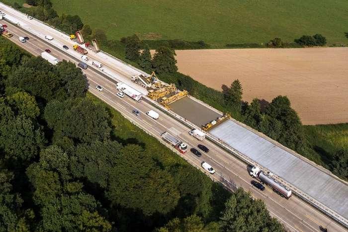Как строят дороги в Германии и почему так не делают у нас-34 фото-