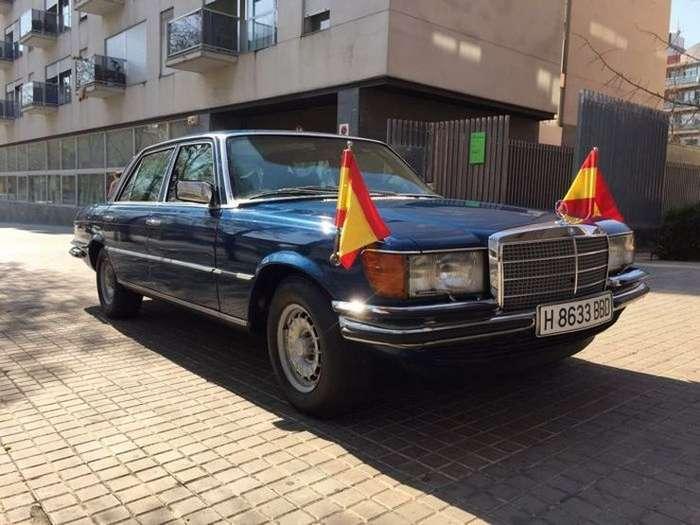Мерседес короля Испании ушел за скромную сумму-24 фото-