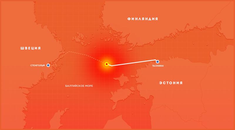 Гибель парома -Эстония- — история со многими неизвестными-5 фото-