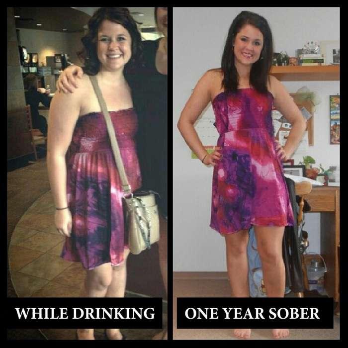Эти люди просто бросили пить: посмотрите, как они изменились!-19 фото-