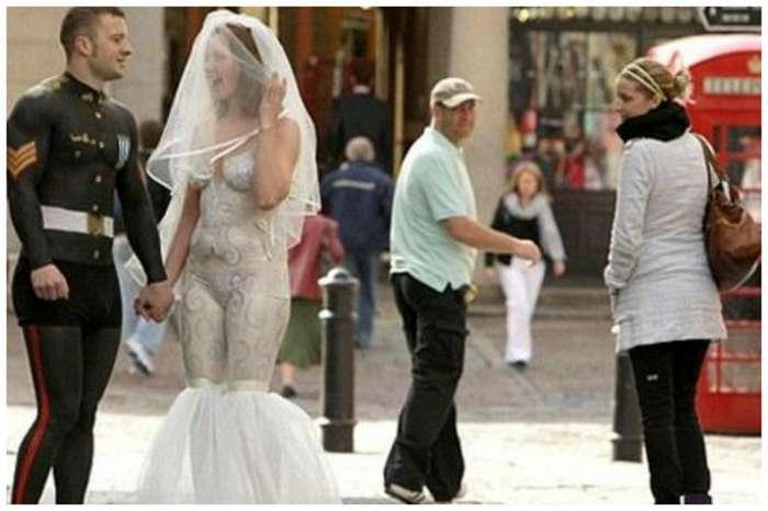 20 свадеб, где гости падают в обморок от вида невесты-21 фото-