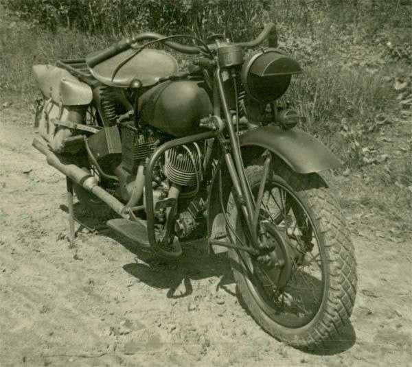 Как у Красной Армии появились военные мотоциклы-20 фото-