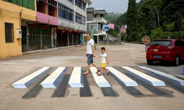 Оптические иллюзии, которых следует избегать в нетрезвом виде-11 фото-