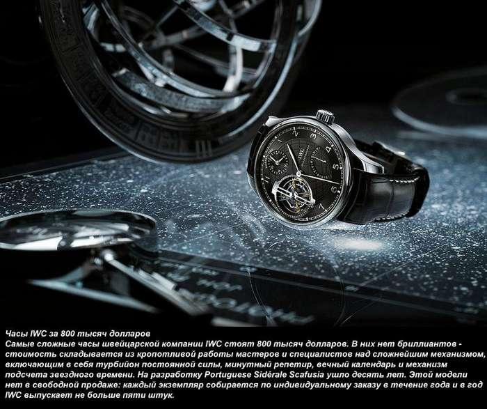 Часы IWC за 800 тысяч долларов-11 фото-