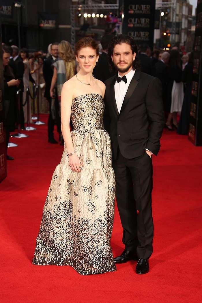 Свадьба близко: Актёры из -Игры престолов- Кит Харрингтон и Роуз Лесли объявили о помолвке-7 фото + 1 видео-