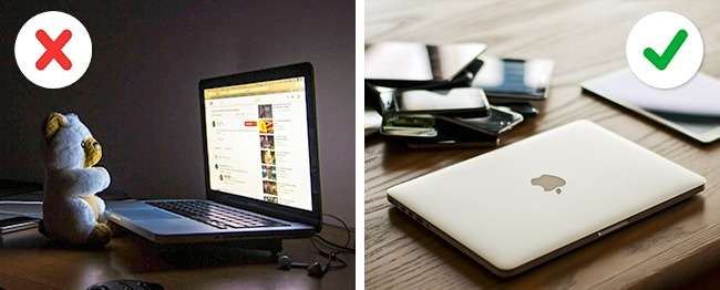 12действий, которыми мынезаметно портим свой ноутбук