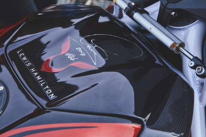 MV Agusta и Льюис Хэмилтон создали лимитированный спортбайк-29 фото + 1 видео-