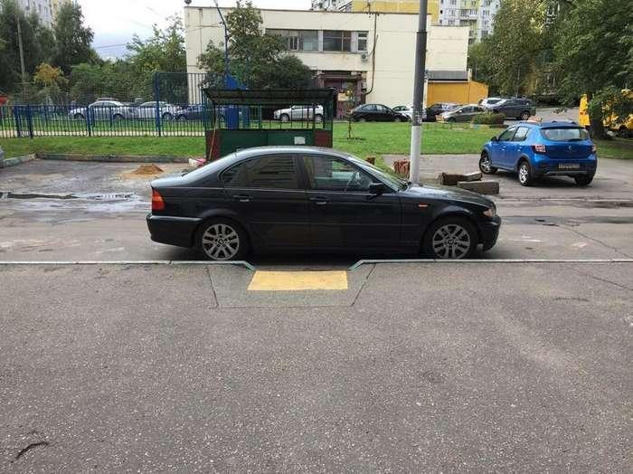 Быдлопаркованы, или я паркуюсь как олень-30 фото-