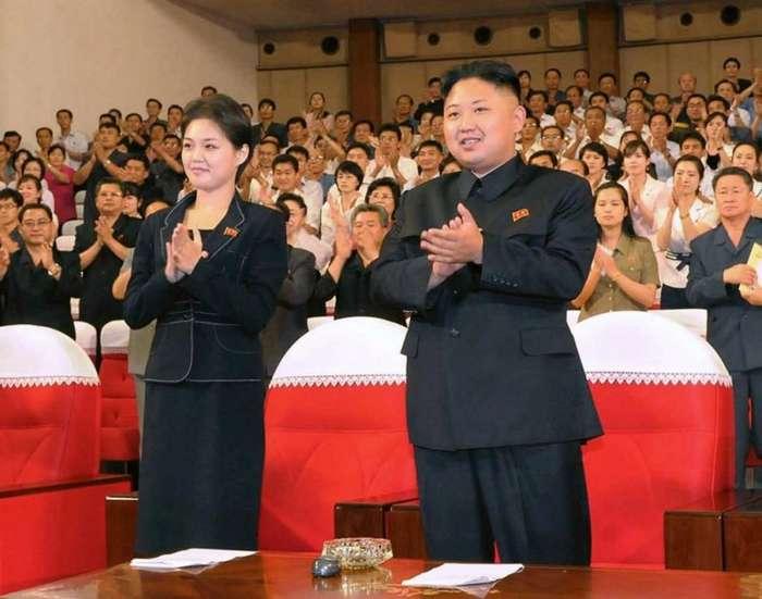 Загадочная жизнь жены лидера КНДР Ким Чен Ына-10 фото-