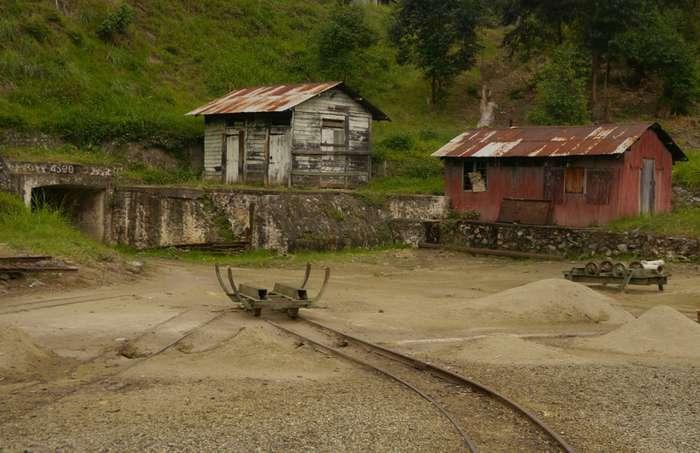 Заброшенные шахты, вид изнутри-37 фото-