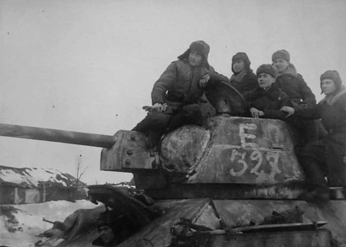 Тацинский танковый рейд генерала Баданова-19 фото-