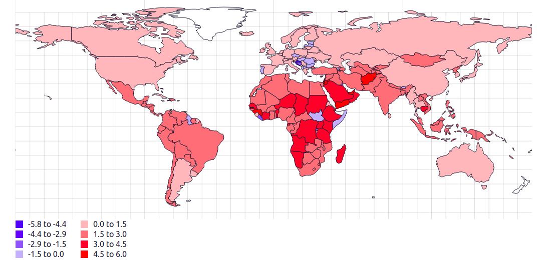 Новые статистические карты, которые помогут лучше понять современный мир-16 фото-