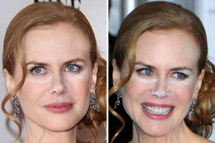 Позорный звёздный макияж: уж лучше бы вовсе не красились-33 фото-
