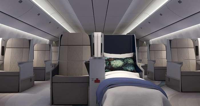 Самый шикарный в мире пассажирский самолет приглашает в воздушный круиз!-14 фото-