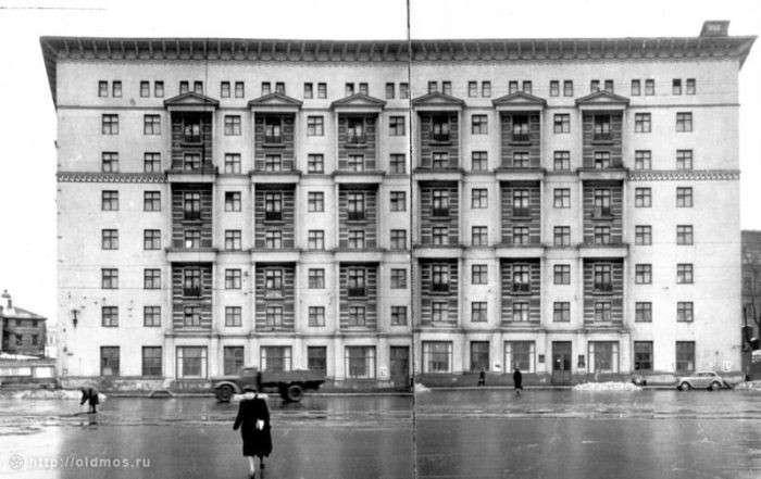 Москва тогда и сейчас-31 фото-