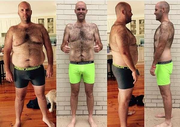 Парень сбросил 50 кило, питаясь лишь одним продуктом... никогда не догадаетесь, каким!-6 фото-