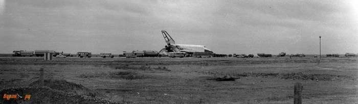 Полет -Бурана- - как это было-8 фото-