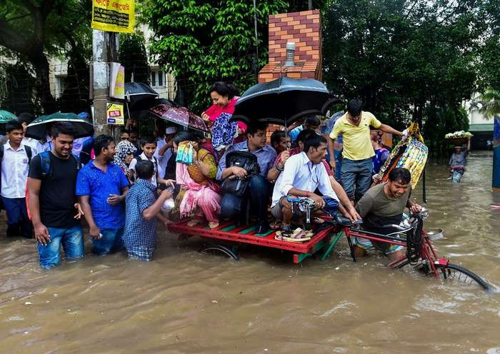 Южную Азию заливают ливневые дожди