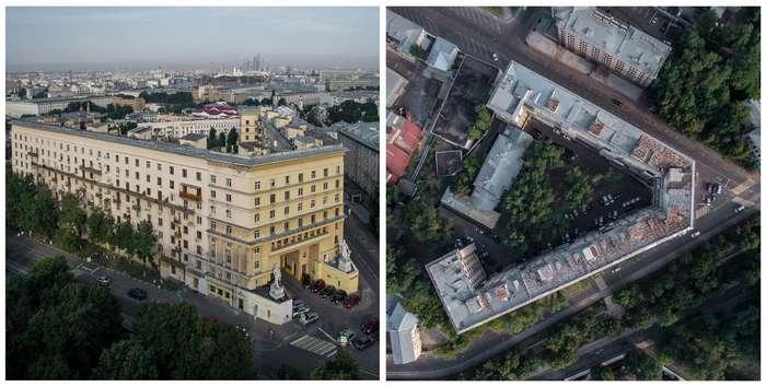 Знаковые сооружения Москвы за 100 лет