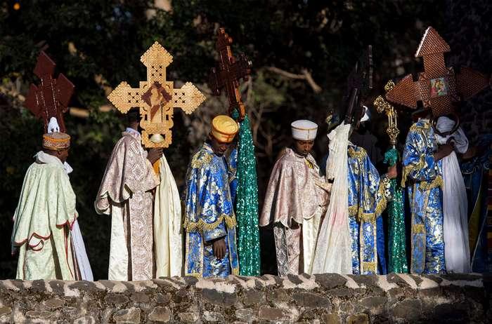 Крещение Господне по-эфиопски