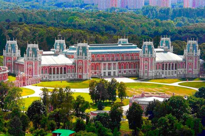 Старинные усадьбы Москвы