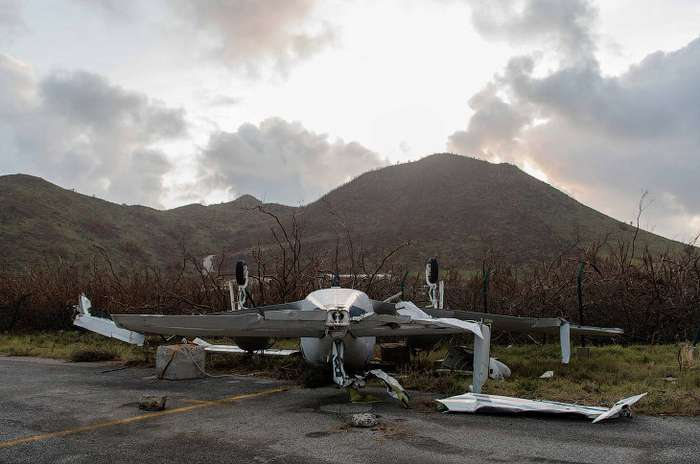 Последствия урагана «Ирма»