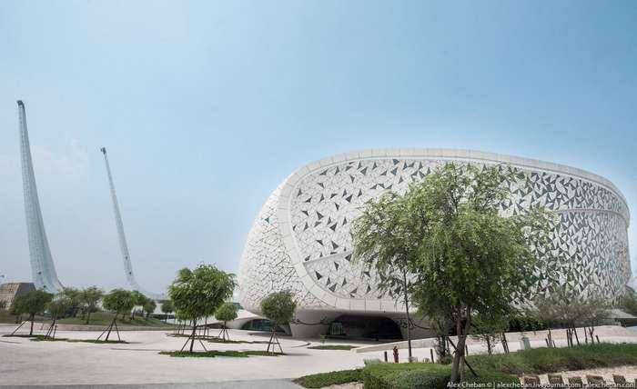 Самая необычная архитектура мечети в Дохе