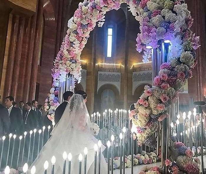 Роскошная свадьба младшего сын короля столичной недвижимости