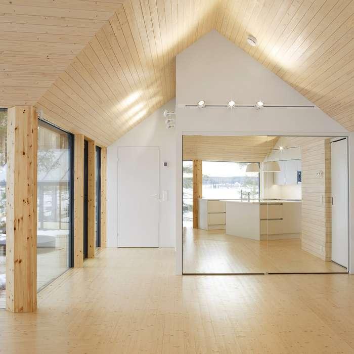 Просто, но со вкусом: загородный дом в Финляндии
