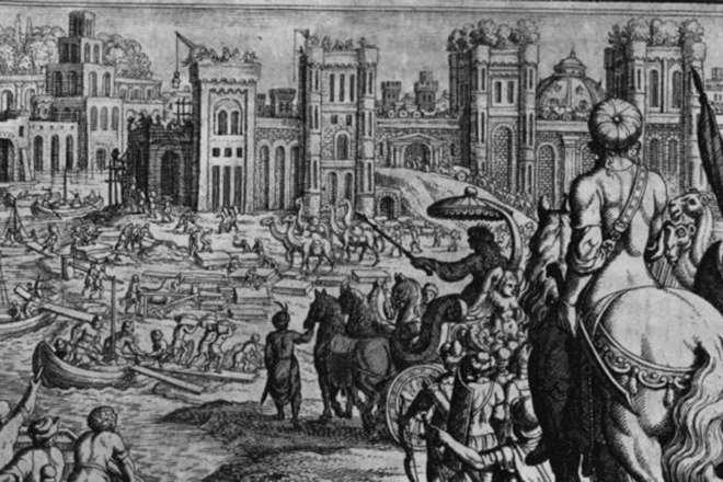 В Ираке найден затерянный город Александра Македонского