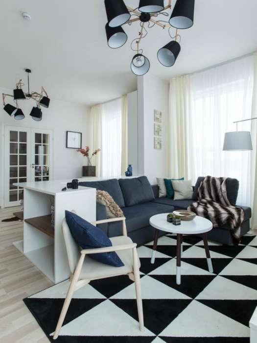 18 изумительных гостиных, которые покоряют своим утонченным стилем и современным дизайном