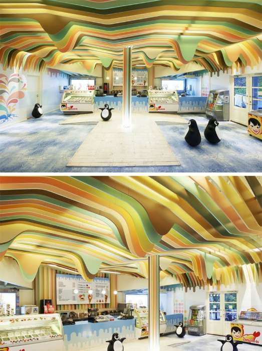 18 восхитительных примеров оформления потолка, который станет изюминкой любого помещения