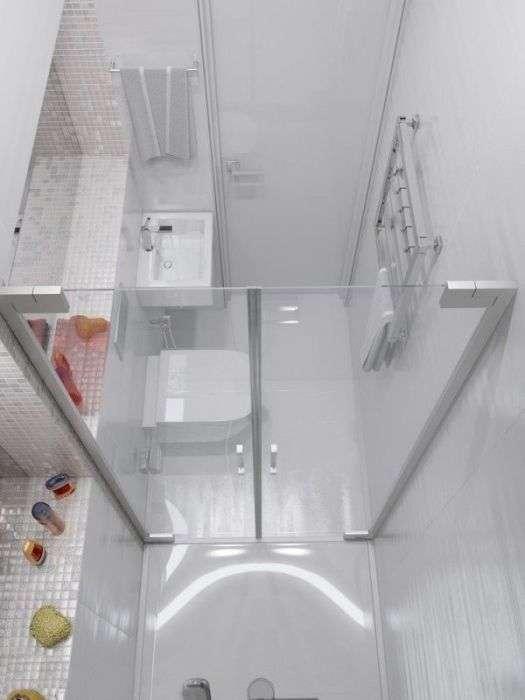 20 примеров грамотного интерьера маленькой ванной комнаты в современном стиле