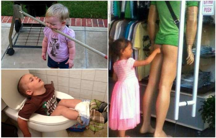 19 сногсшибательных фотографий о нескучных буднях малышей и их родителей