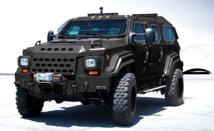 5 обычных автомобилей, которые превратили в настоящие -танки-