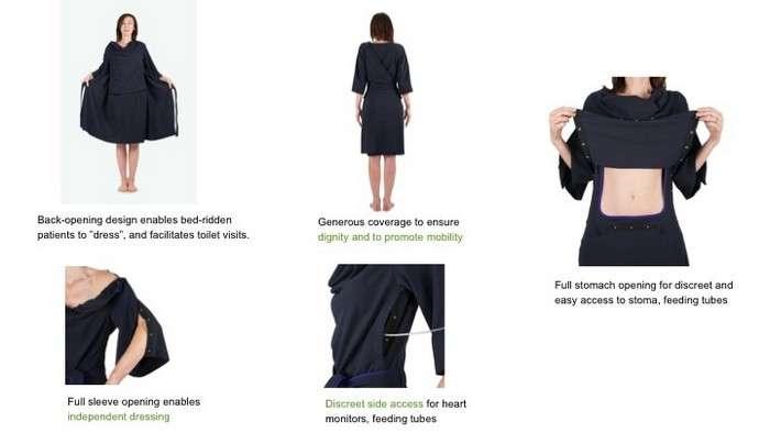 -Долой больничные халаты!-: как выглядит больничная одежда нового поколения