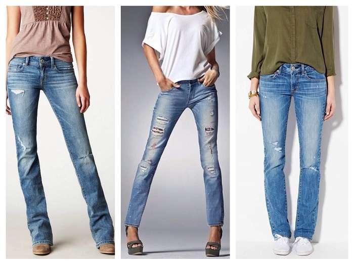 И в офигительных штанах: Как правильно подобрать джинсы по типу фигуры