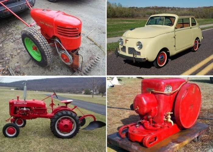 Как из деталей старого трактора умелец построил стильный мотоцикл