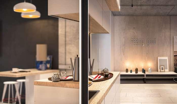 Минимум вещей - максимум комфорта: как квартиру площадью 26 -квадратов- превратить в шикарные апартаменты