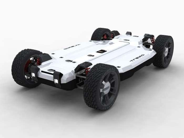 Сделай сам: электромобиль-конструктор, который водителю предстоит собрать самому