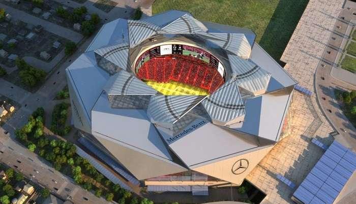 Великолепный и достроенный: Долгожданное открытие стадиона-трансформера Mercedes-Benz Stadium