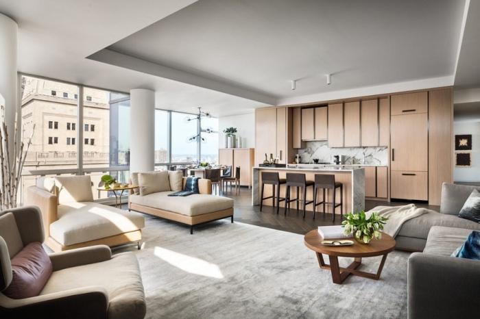 Как живут супермодели: роскошные апартаменты c потрясающим видом на мегаполис