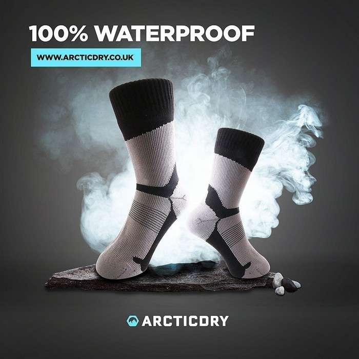 Ни дождь, ни слякоть: появились носки, которые не промокнут даже в самый сильный ливень