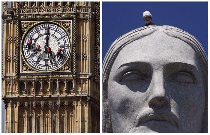 Очень большая стирка: как чистят 7 крупнейших исторических памятников в мире