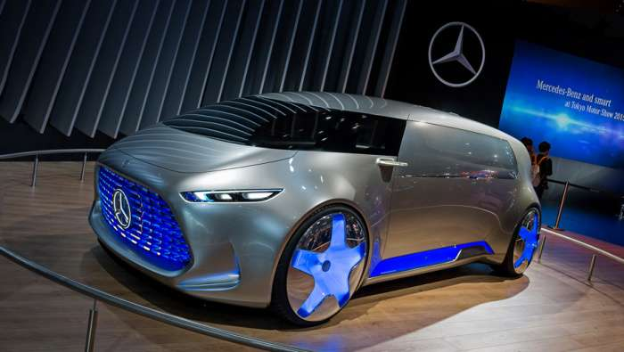 Сенсации автосалона Франкфурт-2017: -умный- Smart, беспилотник от Mercedes и другие революционные авто